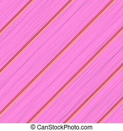 Pink Wood Diagonal Planks