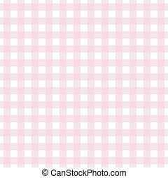 Pinke background of plaid pattern, illustration