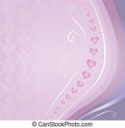 pink&violet, scheda, valentine