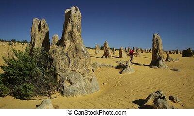 Pinnacles Desert enjoying - Western Australia travel freedom...