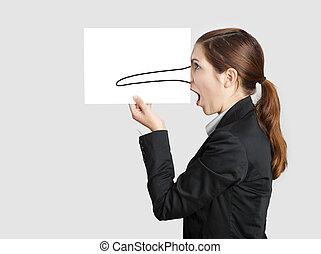 pinocchio, 鼻