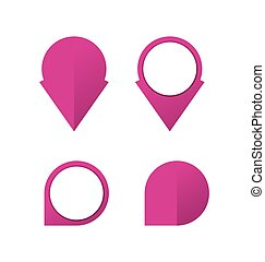 pinpoint icon collection - collection of pinpoint icon can...
