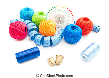 pins and other items for needlework