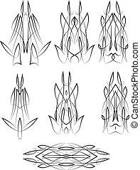 pinstripe, desenho