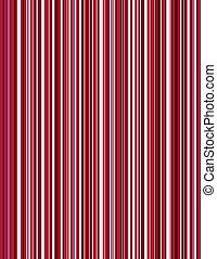 pinstripe, experiência vermelha