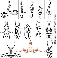 pinstripe, konstruktion