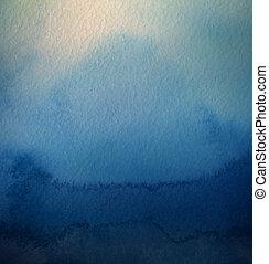 pintado, abstratos, textura, aquarela, experiência., acrílico, paper.