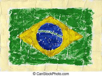 pintado, bandera
