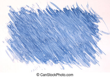 pintado, experiência azul