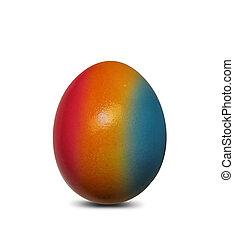 pintado, huevo de pascua