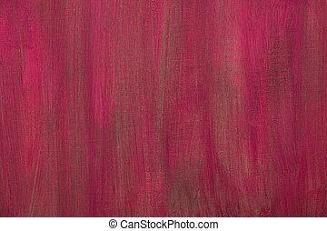 pintado, lona, artisticos, vermelho