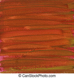 pintado, lona, vermelho, textura