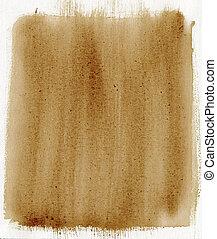 pintado, marrom, lona, fundo, textura