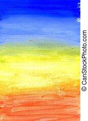 pintado, multicolor, textura
