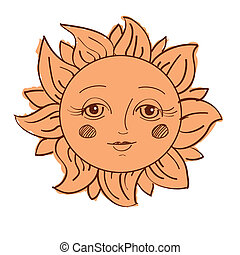 pintado, sol