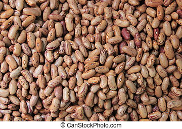 Pinto beans for sale in a grocery store