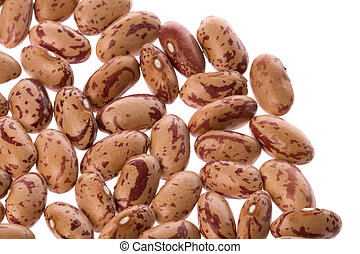 Pinto Beans - Isolated image of pinto beans.