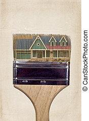pintura de la casa