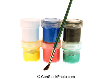 pintura escova