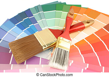pintura, muestras