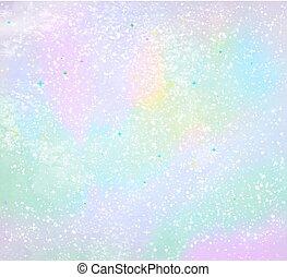 pintura pastel colora, grunge, navidad, plano de fondo