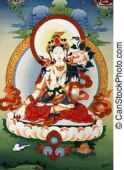 pintura, tibet