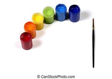 pinturas, coloreado