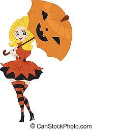 Pinup Girl Pumpkin