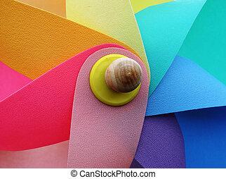 pinwheel - colourful toy