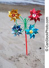 pinwheel, giocattolo
