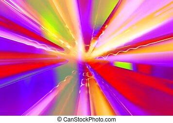 Pinwheel of Bright Colors