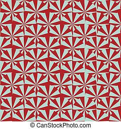 pinwheel, seamless, marrone