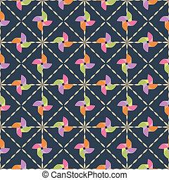 pinwheel seamless pattern