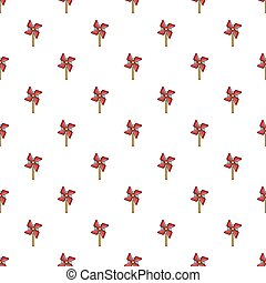 Pinwheel toy pattern