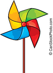 pinwheel, toy windmill propeller