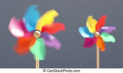pinwheel, zabawka