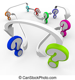 piombo, frecce, collegato, domande, misteri, più