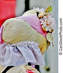 Pioneer bonnet - A women'd old fashion pioneer bonett