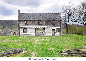 pioneer house - historic 1820 pioneer home
