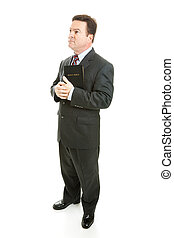Pious Preacher or Businessman - Pious minister or...