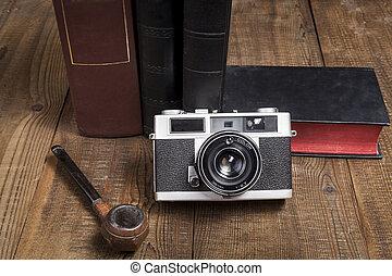 pipa, fényképezőgép