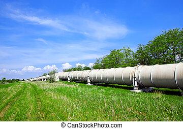 pipa, ipari, gáz, olaj