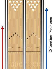 pipafej sáv, diagram