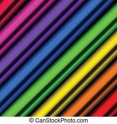 piparen, färgrik, bakgrund