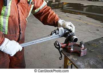 Pipe fitter - Industrial pipe fitting