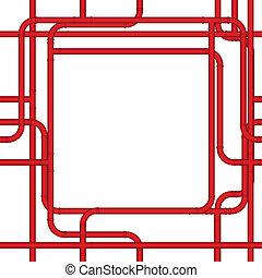 Pipe frame
