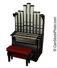 organ - pipe organ