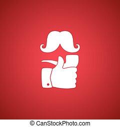 pipe smoker like thumb up