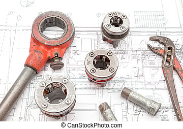pipe thread cutter