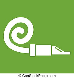 Pipe tongue icon green